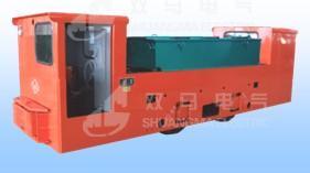 8T变频防爆蓄电池机车