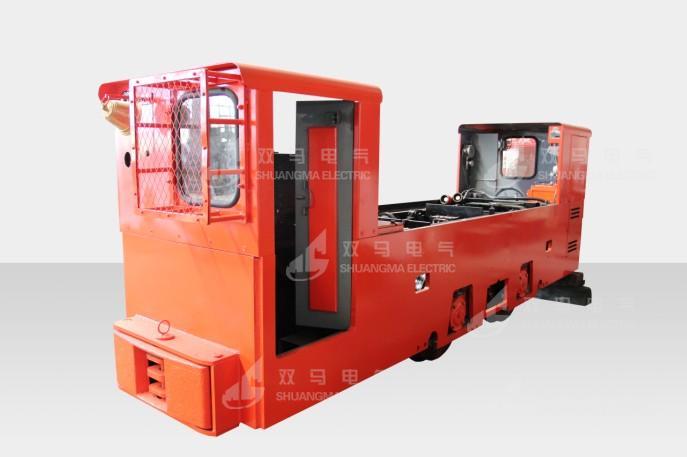 12T变频防爆蓄电池机车