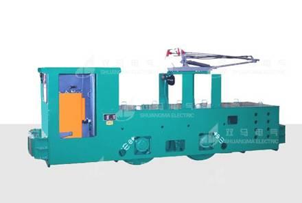 7T、10T变频架线式工矿电机车